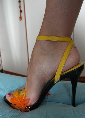 Sandali piume